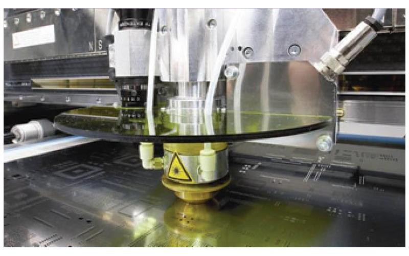 Production of patterns from stainless steel for soldering paste coating